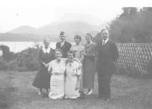 Staff at Ahousaht Indian Residential School