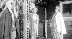 Christmas concert, 'King Hilary and the Beggarman,' 1934