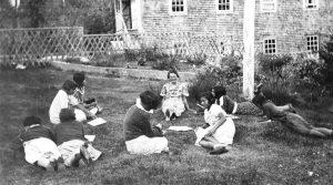 Sunday school class, Ahousaht Indian Residential School
