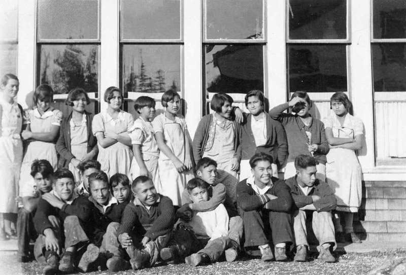 Grades 5 to 8, Ahousaht Indian Residential School, 1936