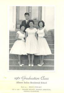 1961 graduating class, Alberni Indian Residential School