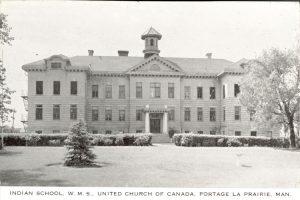 Portage la Prairie Indian Residential School.
