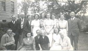 Staff of Portage la Prairie Indian Residential School.
