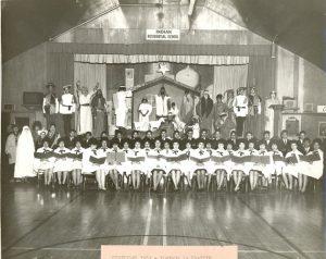 Christmas 1962, Portage la Prairie Indian Residential School.