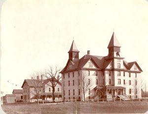 Buildings at Mount Elgin Institute.