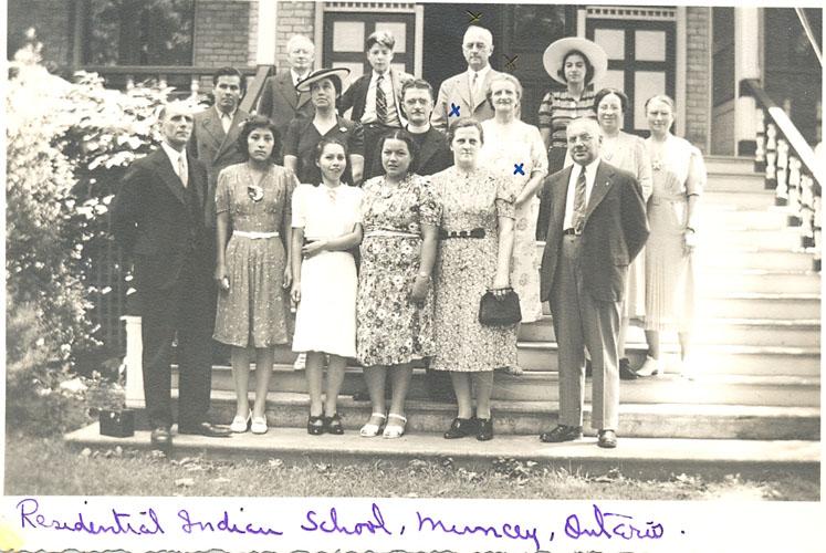 Staff of the Mount Elgin Institute.