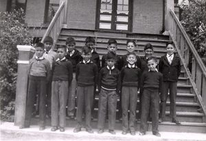 Members of the Cubs, File Hills Indian Residential School.