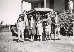 Students going home to Fort Qu'Appelle from File Hills Indian Residential School.