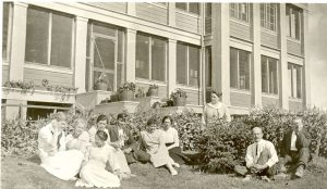 Staff of Norway House Indian Residential School.