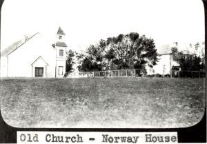 Old church at Norway House.