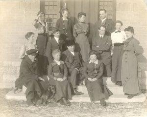 Staff of the Brandon Industrial Institute.