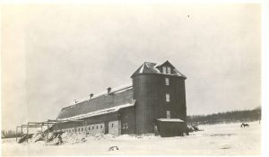Diary barns and silos, Brandon Industrial Institute.
