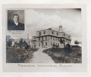 Brandon Indian Institute and surroundings