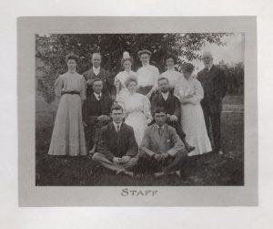 Brandon Indian Institute staff.