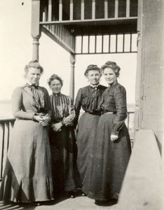 Staff of Crosby Girls' Home, Port Simpson, 1902-1903.
