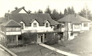 Front view of hospital, Port Simpson.