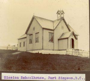 Mission school house, Port Simpson.