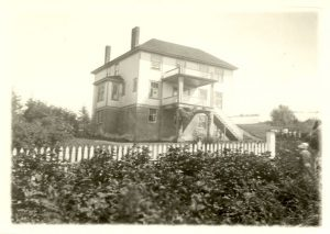 Crosby Girls' Home at a distance.