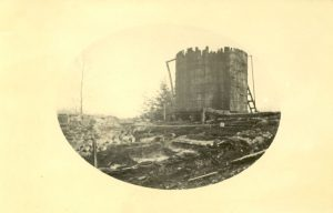 Ruins of Crosby Girls' Home, Port Simpson, following the fire.