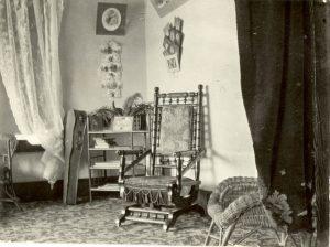 Sitting room, Crosby Girls' Home, Port Simpson.