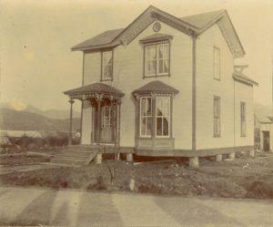 Tsimshian home, Port Simpson, British Columbia.