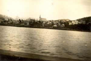 View of Port Simpson from the water.
