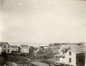 View of Port Simpson, looking westward.