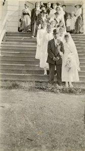 Wedding party, Port Simpson.