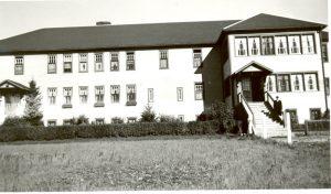 Morley Indian Residential School.