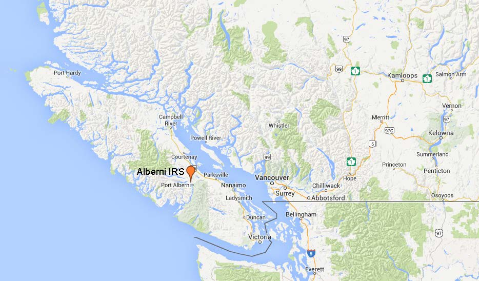 Map of Alberni's location.