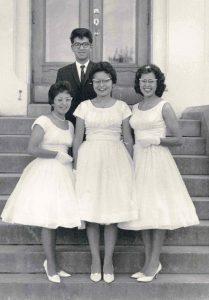 Graduating class of 1961, Alberni Indian Residential School