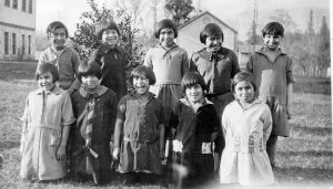 Girls, Alberni Indian Residential School