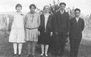 Mission Band officers, Alberni Indian Residential School