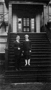 Rev F.E. and Mrs.Pitts, Alberni Indian Residential School